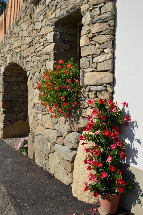 Trockenmauer Hofeinfahrt