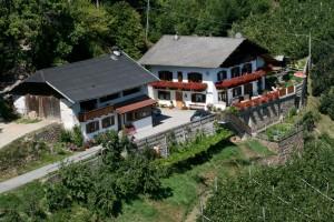 Eichmannhof Marling: alle Zimmer verfügen über einem Balkon mit herrlichem Blick