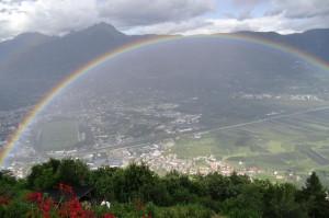 Naturschauspiel: Regenbogen
