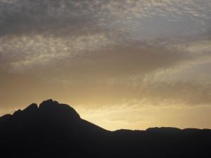 Ifinger bei Sonnenaufgang