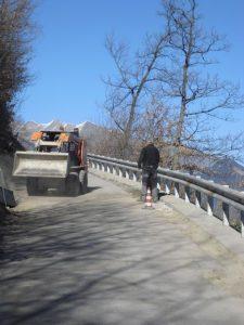Verbesserung der Zufahrtsstraße 2017