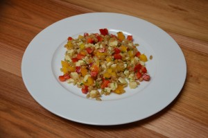 Grünkernsalat